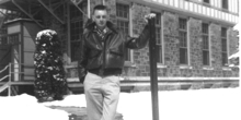 Chuck Felton at the Cresson TB Sanatorium in 1956
