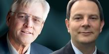 Candidates John McGinnis (R) and Richard Flarend (D), running for General Assembly in PA's 79th District